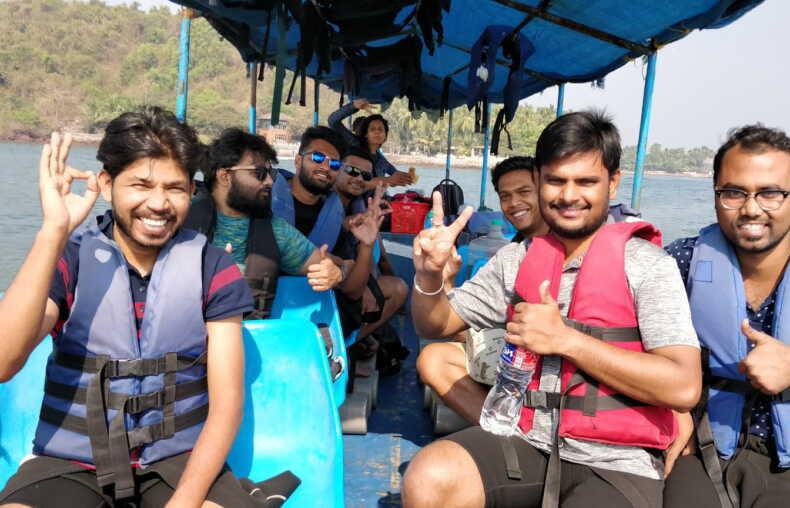 Boat trip goa grand island