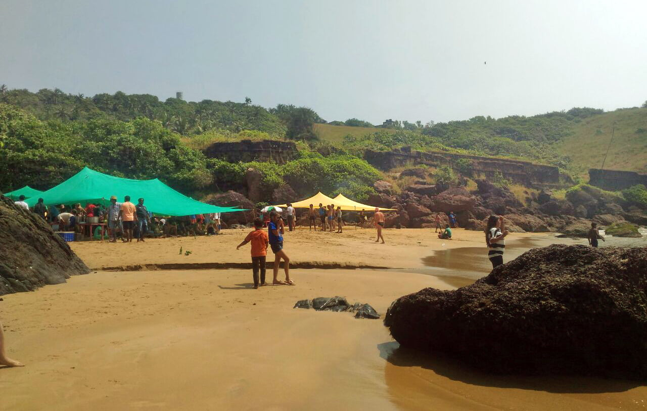 Grand island - monkey beach goa
