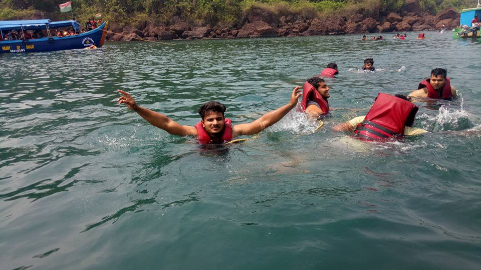 Snorkeling at Grand island Goa