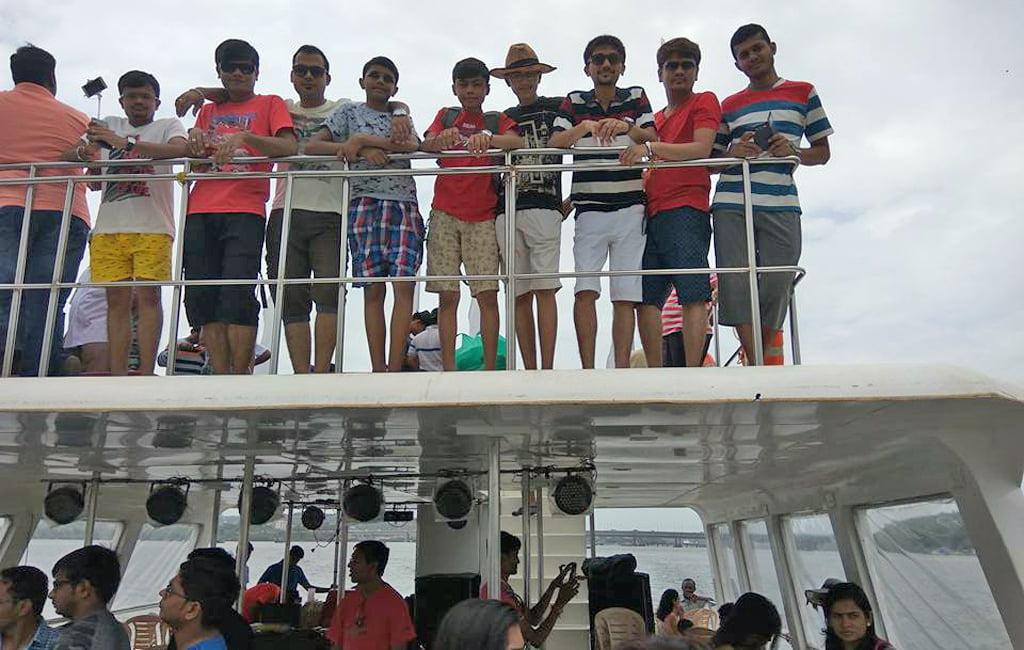 Adventure boat trip with fun activities
