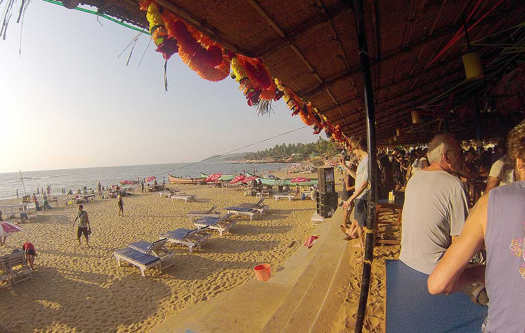 Anjuna Beach (North Goa Sightseeing Tour)