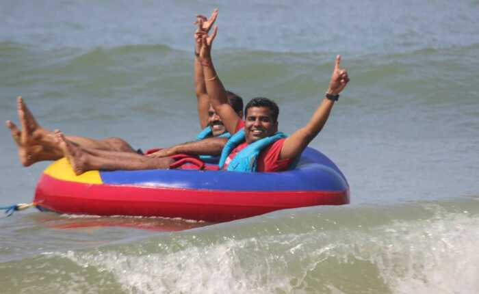 Bumper Boat Ride Water Sports Goa