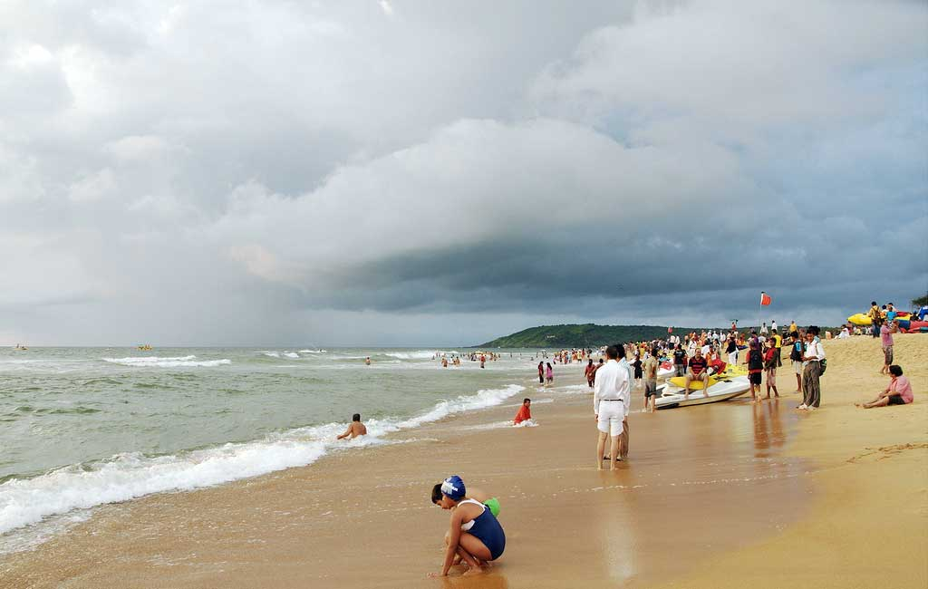 Calangute-beach (North Goa Sightseeing Tour)