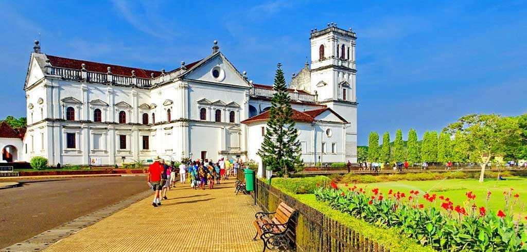 The Se' Cathedral de Santa Catarina