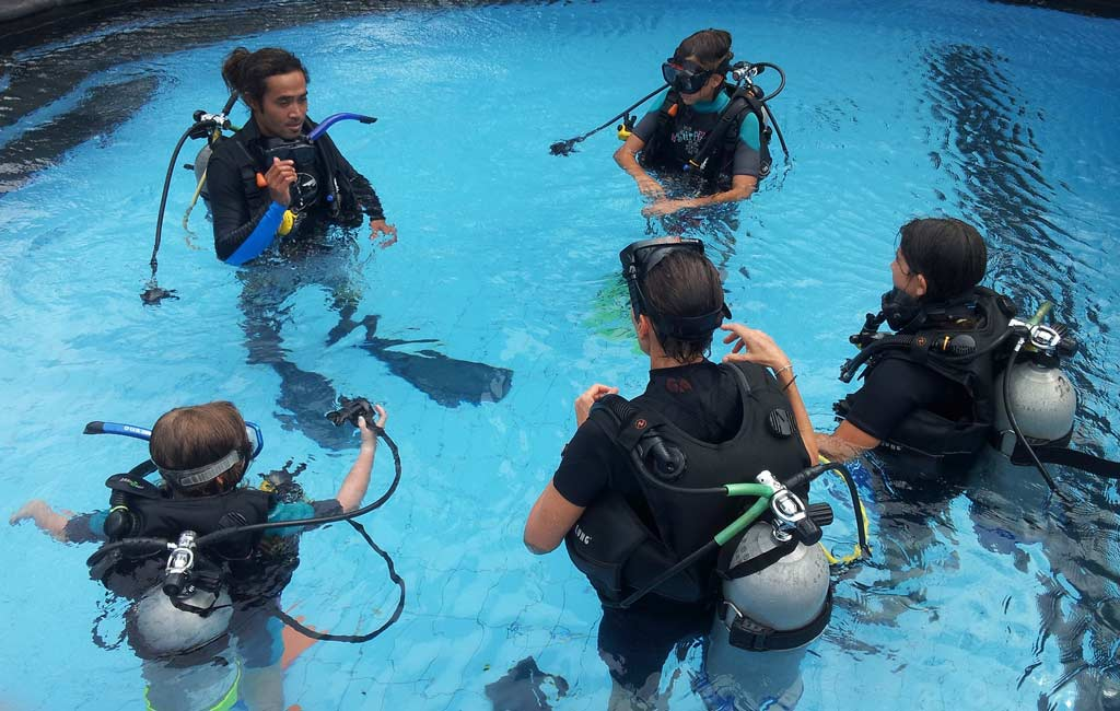 All About Scuba Diving Training