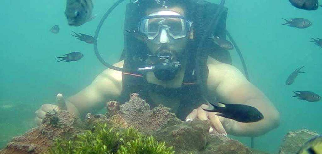 scuba diving trip at malvan