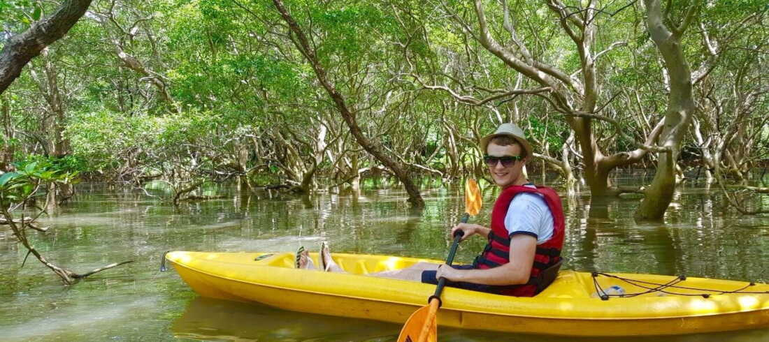 Backwater Kayaking in Goa 2019