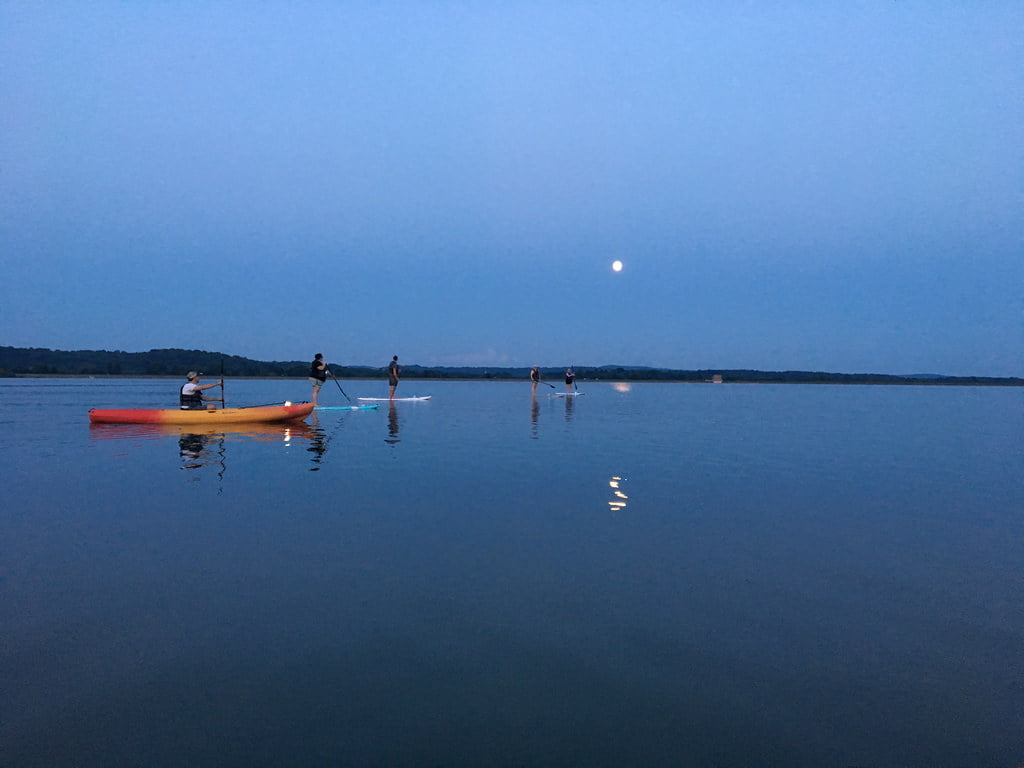 moon light kayaking in goa